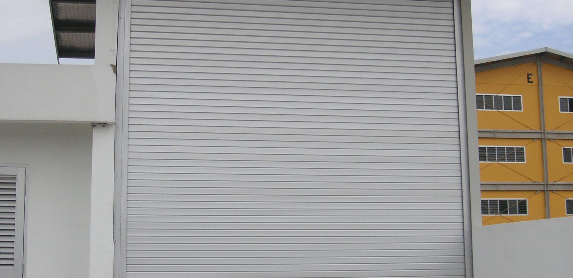 Aluminium Roller Shutter _ Rooftop Stora