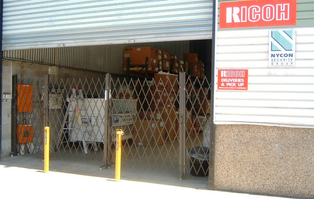 Security Barriers as temporary barricade