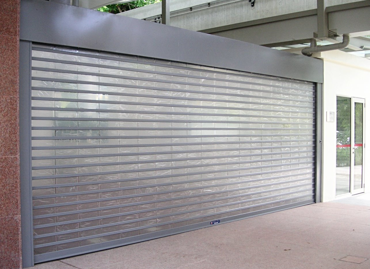 MVPS Roller Shutter for stores in MRT st