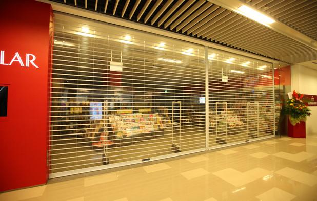 MVPS Roller Shutter for Popular Bookshop