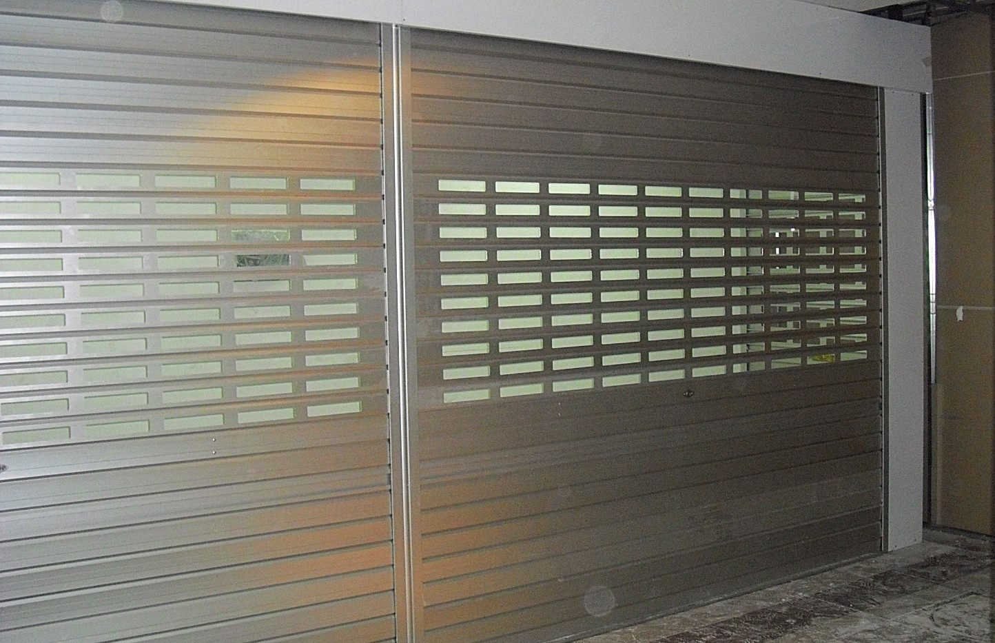 Aluminium Roller Shutter with holes as p