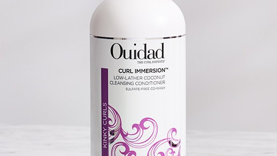 Curl Immersion Low Lather Coconut Cleansing Conditioner