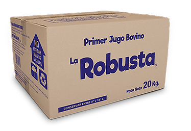 Caja La Robusta - Primer jugo bovino 20k