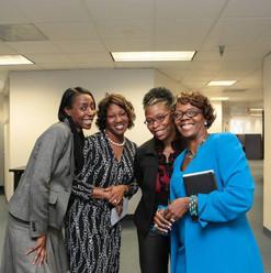 Audrey Johnson, Patrice Dennis, Gail Riddick and Hope Porter