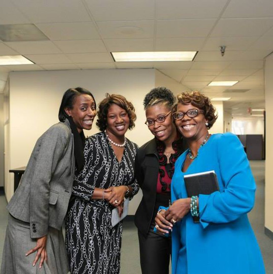 Audrey Johnson, Patrice Dennis, Gail Riddick and Hope Porter