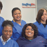 Staffing Etc nurses posing after a training seminar