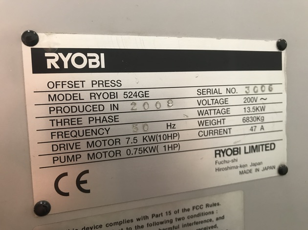 Ryobi 524 GE