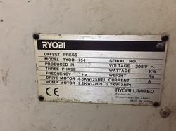RYOBI 754 A