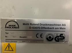 MAN ROLAND 305 P+L