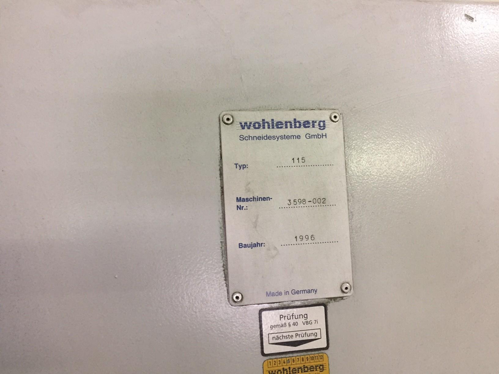 WOLHENBERG 115