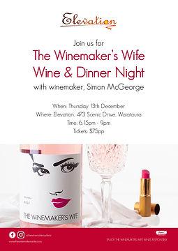 Elevation Winemakers Wife Winemakers Din