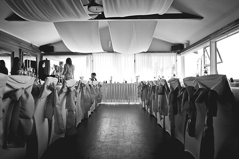 Blue and turquose wedding at Eevation Brasserie