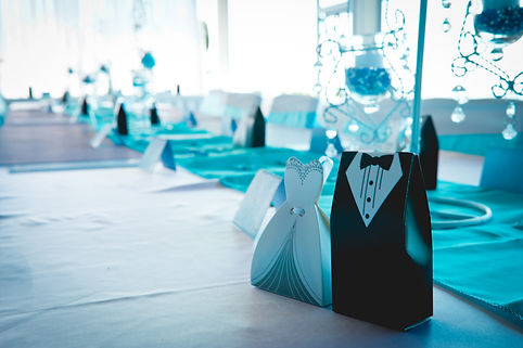 Weddin at Elevaton Brasserie. Bride and groom love blue and turquoise