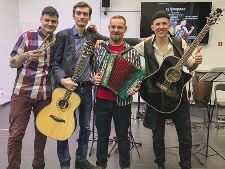 Концерт. Степан Корольков и Константин Краснопёров