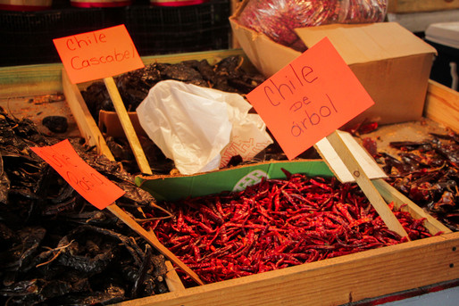 """""""Chile de arbol"""" originated from Mexico. It is known to some people as the bird's beak or the rat's tail."""
