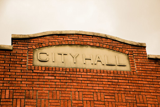 This City Hall is no longer in business, leaving us thinking how many more are going to pass till something we know now is made into a Historical mark.
