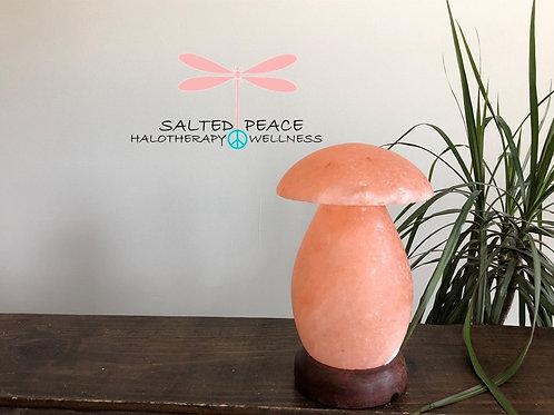 Mushroom Pink Himalayan Salt Lamp