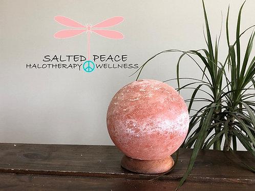 Pink Himalayan Salt Lamp Globe