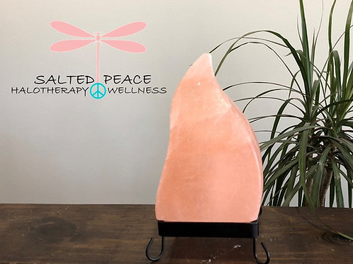 Pink Himalayan Salt Lamp Moroccan Flame