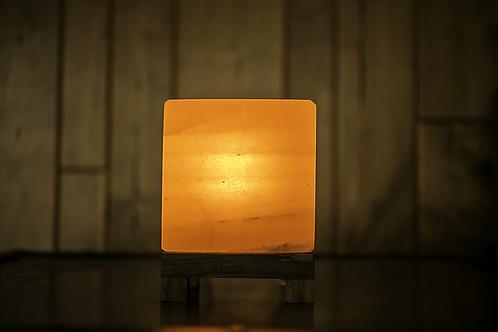 Pink Cube Himalayan Salt Lamp