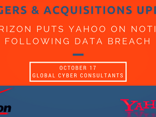 MERGERS & ACQUISITIONS: WHAT IS YAHOO'S DATA BREACH WORTH TO VERIZON?