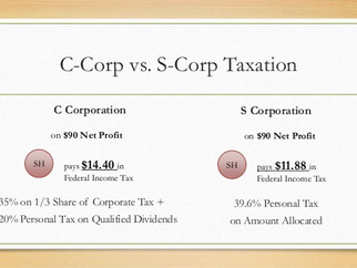 S Corp? C Corp? Whats the difference?