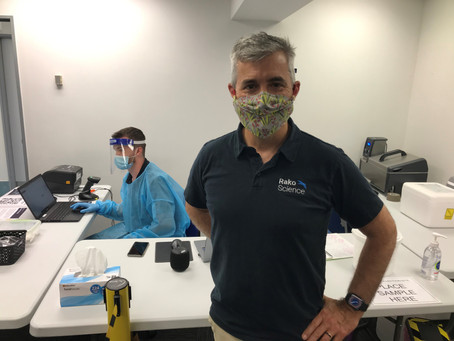 Rako Science's first 2,000 saliva tests completed without hitch