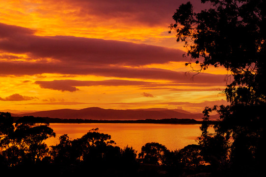 Sunrise Overlooking The Neck, South Arm,