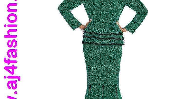 275334 - 2 Pcs Suit - Emerald