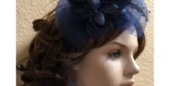 AJ4F345-Hat-Navy- Headpiece