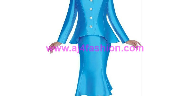136224 - 2 Pcs Suit -Turquoise
