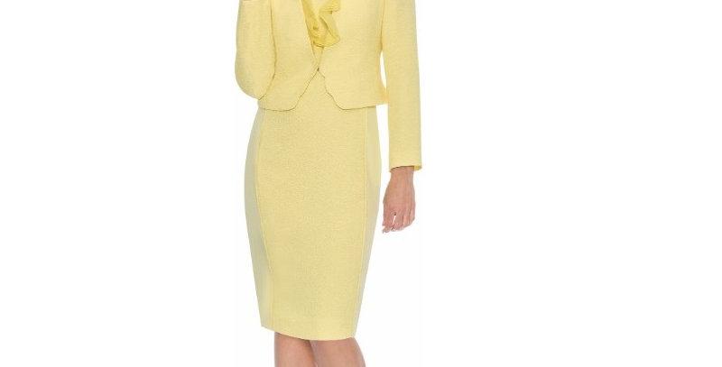 275482 - 2 Pcs Dress & Jacket -Yellow