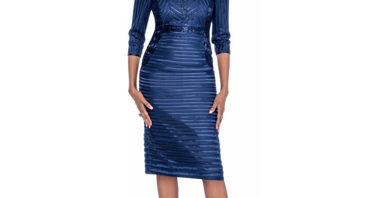 276174 - 1Pc Dress - Navy