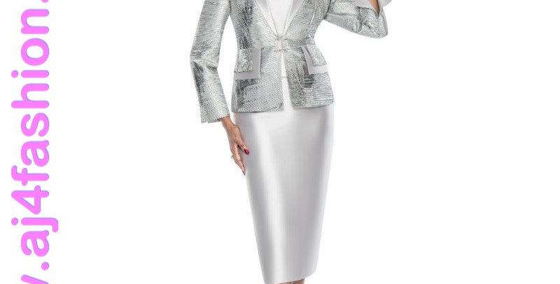 137114 - 3Pcs Suit - Silver