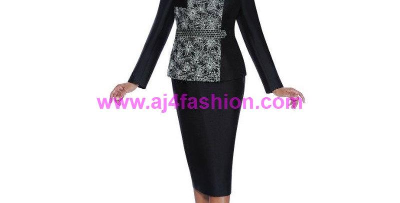 136034 - 2 Pcs Suit -Black