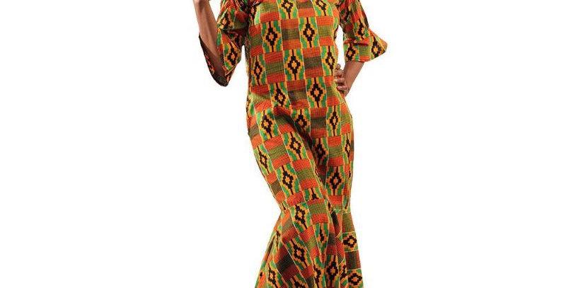AJ4F365-W517- Kente#2-Off-Should Dress