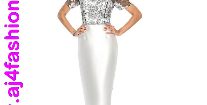 385454 - Dress with Jacket  - White Off