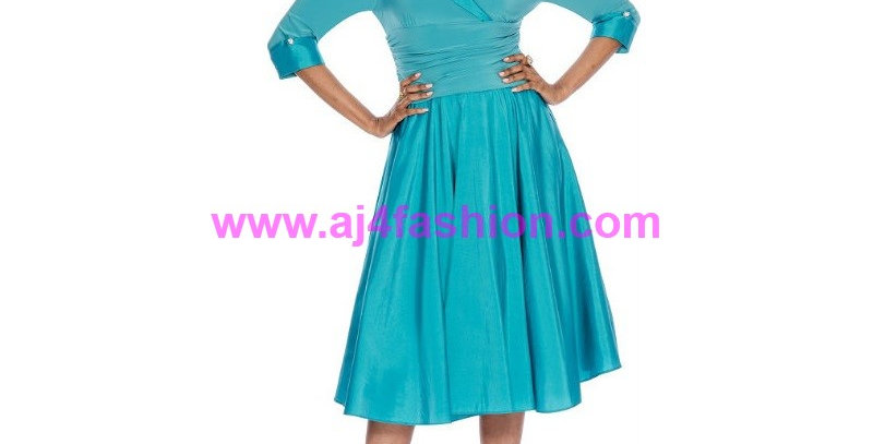 275044 - 1 Pc Dress -Teal