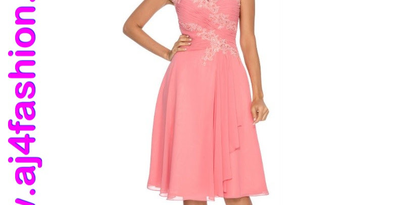 385744 - Dress for special occasion - Coral