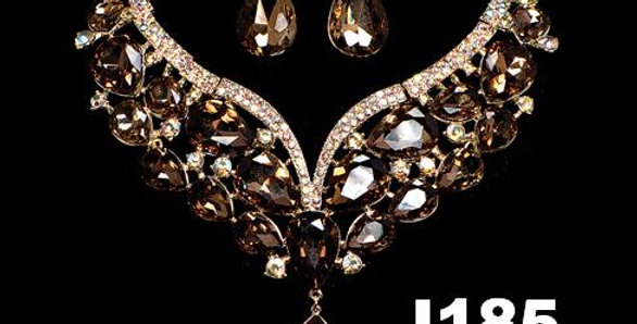 Jewerly Set-J185- Gold color