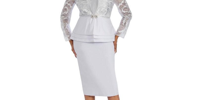138304  - 3 Pcs. Suit - White