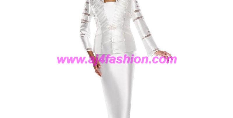 137084 - 3Pcs Suit - Ivory