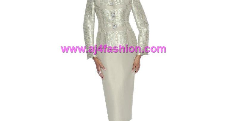 274534 - 2 Pcs Suit - Silver Metallic