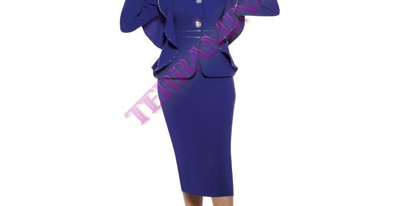 135644 - 2 Pcs Suit- Royal Blue