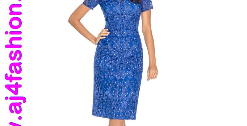 385844 - Dress for special occasion - Royal