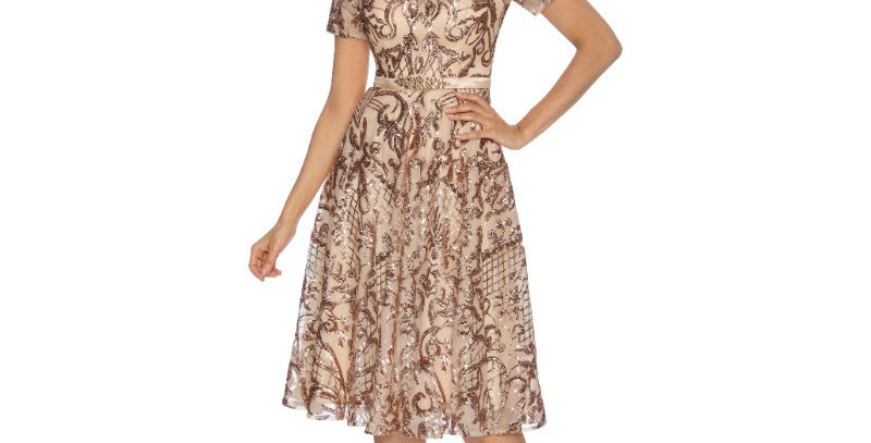 386594 - Dress for special occasion - Rose/Gold