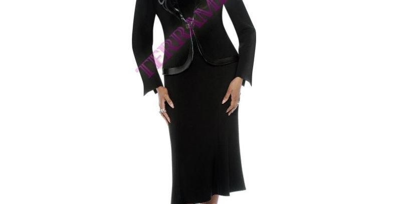 135724 -3 Pcs Suit -Black