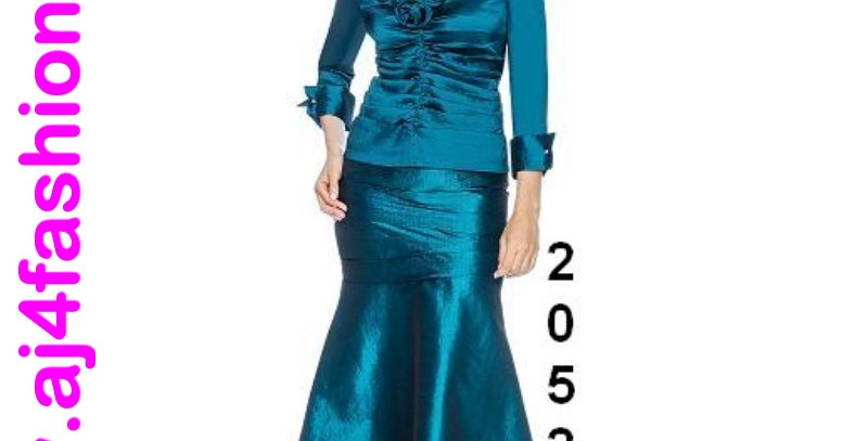510674 & 520524  - 2 Pcs Top & Skirt - Only in Midnight Blue