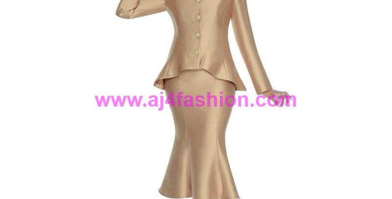 136224 -2 Pcs Suit -Golden Tan