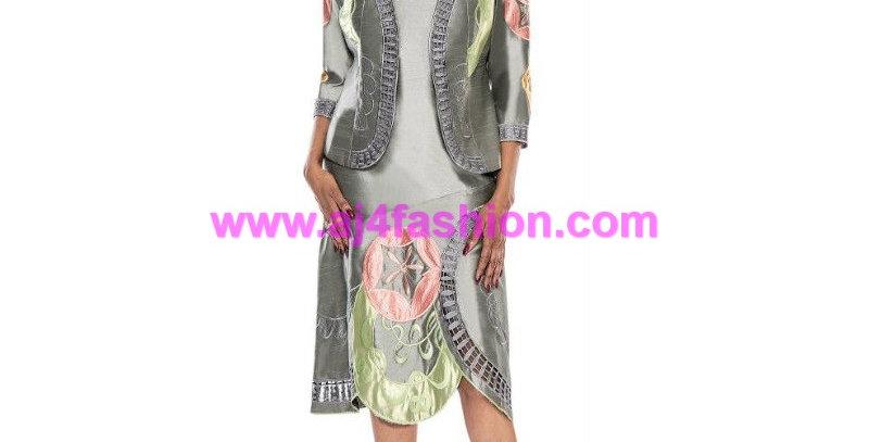 275274 - 2 Pcs Jacket & Jacket - Grey